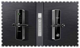 如何用铁丝开锁钥匙丢了门锁旋转-技巧-图解_指纹锁安装教程步骤-安装平台师傅很简单